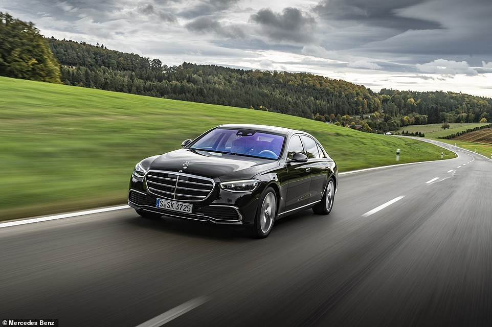The S-Class comes in five lines - the AMG Line is the basic one (from £78,705 for the diesel S350d standard wheelbase)