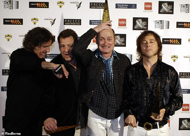 New music: The band is set to release a new album - their first in 11 years, after their latest single, Hung Out To Dry, came out in July. Pictured in 2007