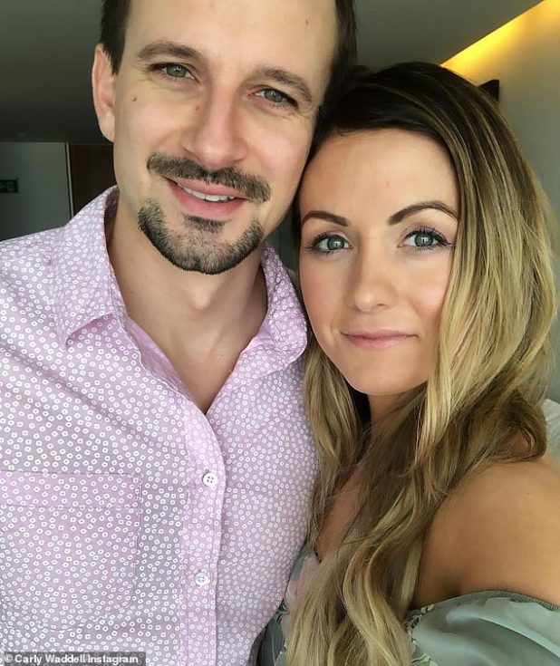 Separate life: Evan Bass, 38, and Bachelor of Paradise, Carly Wadele, 38, announced their separation on December 23, but Bass's ex-wife, Mary, claims he and Wade Dale have been separated since 2019.