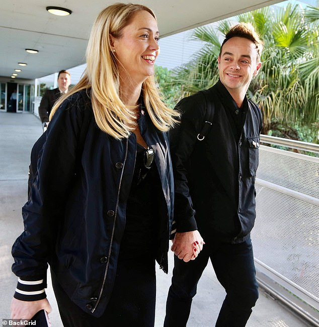Congratulations! It was revealed on Friday that Ant had got engaged to girlfriend Anne-Marie after romantically popping the question on Christmas Eve (pictured in2019)