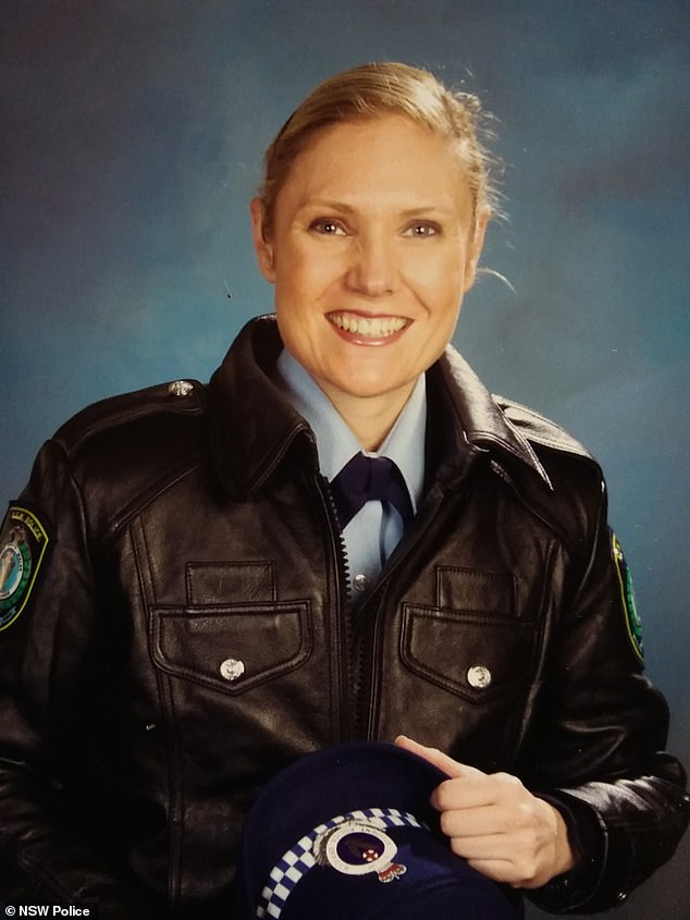 Senior Constable Kelly Foster, 39, joined the NSW Police Force in 2010 and Acting NSW Police Commissioner Mal Lanyon said shealways 'put the needs of others before her own'