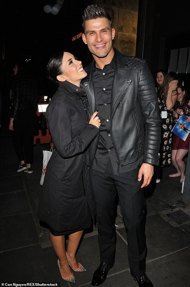 Family: Janette Manrara has revealed that she is going to start a family with her husband Aljaz Skorjanec after ten years of romance (pictured in April 2019)