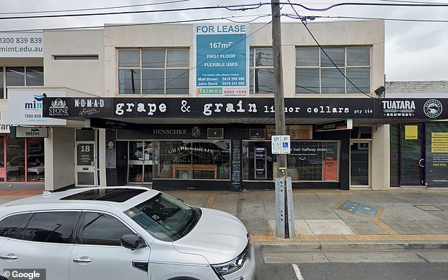 John Tei, owner of Grape and Grain in Moorabbin (pictured), said a staff member tested positive