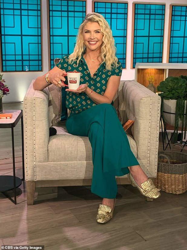 New job: She will start her job now on The Talk Talk on Monday, in addition to Elaine Velloreth, who is replacing former panelists Mary Osmond and Eve.