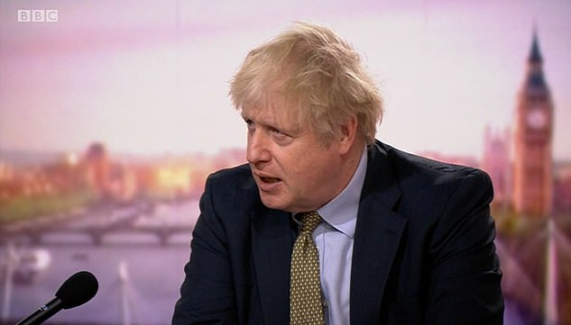 Boris Johnson said yesterday that he had 'no doubt' that classrooms were safe but many headteachers have ignored him and closed anyway