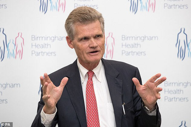Sir John Bell (pictured), regius professor of medicine at Oxford University, said the African strain is more concerning than the Kent one