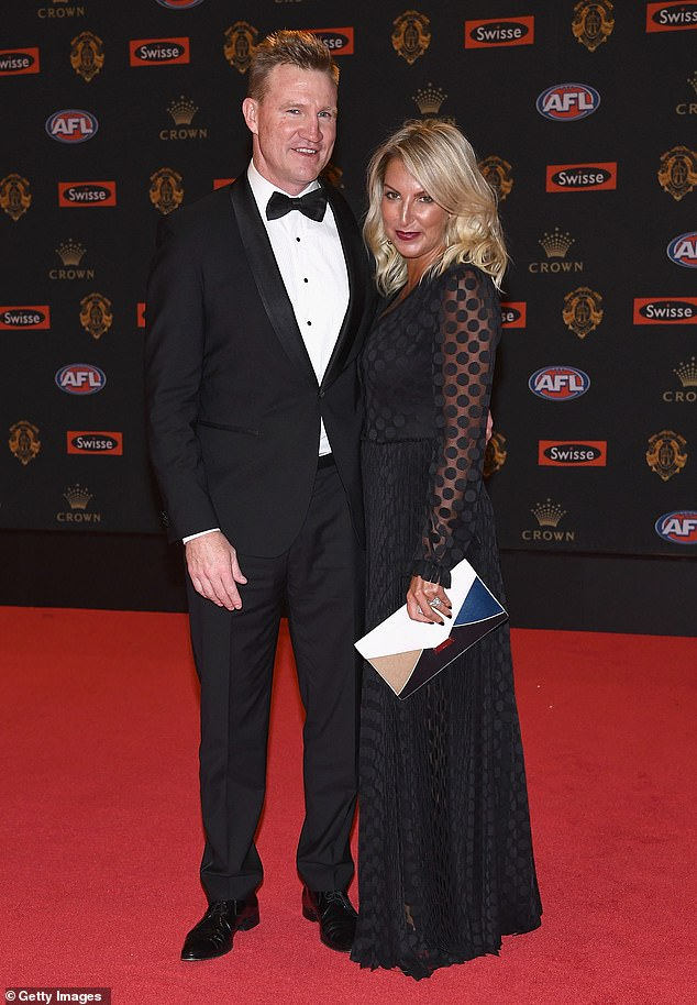 Something in the water: Inside the recent bitter splits of the AFL's famous golden couples - as Nathan Buckley and Tania Minnici become the latest high-profile pair to part ways. Pictured on September 25, 2017, in Melbourne