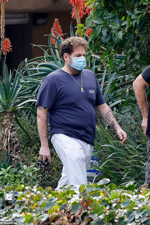 The Beach Bum actor wore a face mask amid the coronavirus pandemic, and spiking COVID-19 rates in Southern California
