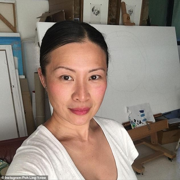 How old?'47 last Friday...' the dark haired beauty captioned her post.Fans were quick to compliment the chef on her age-defying visage, with one writing: 'As IF you are 47?!'