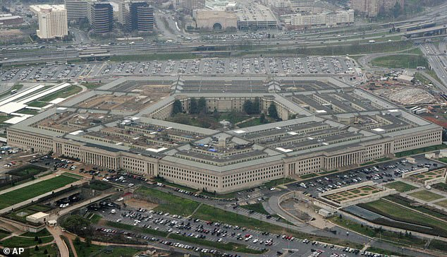 As Trump grows more desperate, military leaders are reportedly leading high-level discussions about what to do if Trump invokes martial law during his last days in office.  The Pentagon is pictured