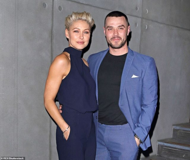 Big plans:Matt and Emma Willis are splashing out on a Grand Designs-style makeover of their £1.7million Hertfordshire mansion - complete with an outdoor swimming pool (pictured 2019)