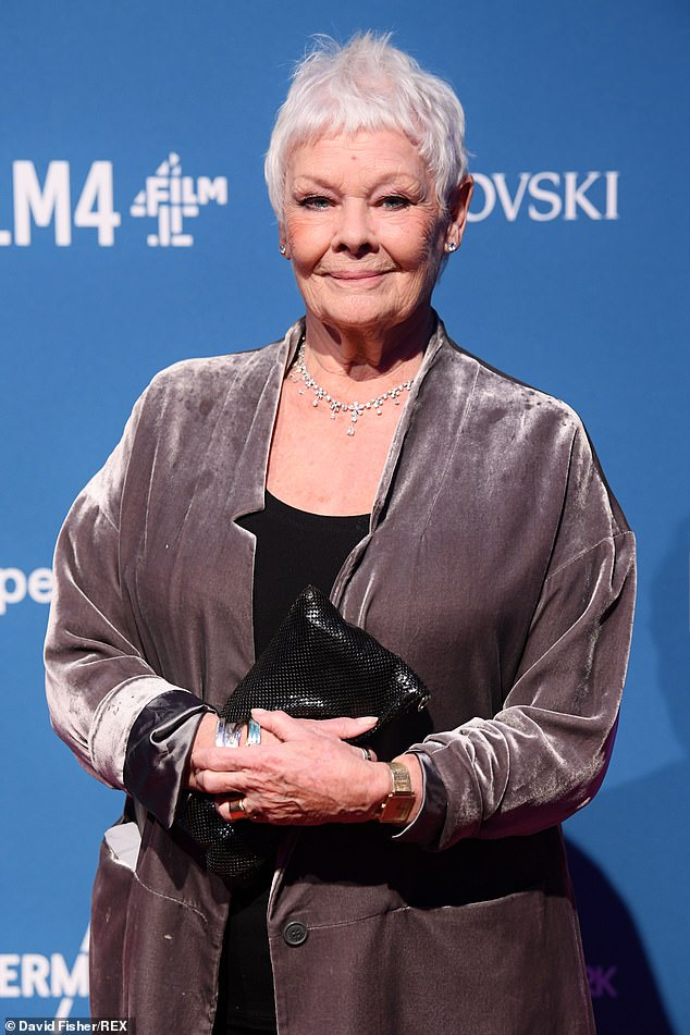 Icon:Dame Judi Dench has revealed she was named by a famous 1930s medium
