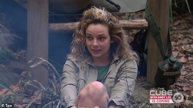 Cashing in: I'm a Celebrity's Abbie Chatfield (pictured) told her campmates on Monday's episode that she earns 10 TIMES more as an influencer than her old job as a property analyst - and says yes to every opportunity