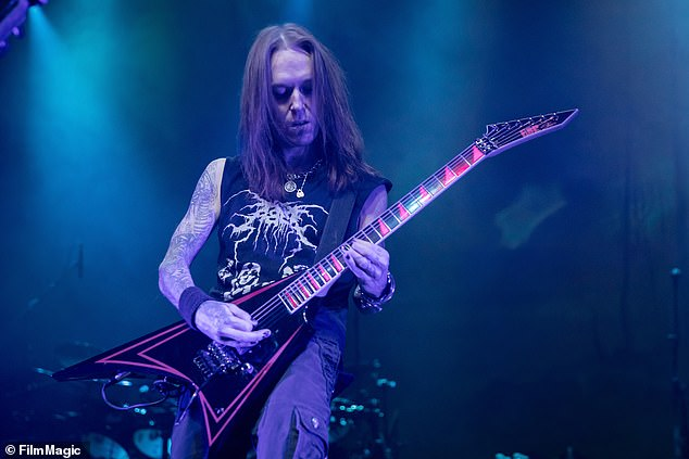 Iconic: Alexi founded Children of Bodom in 1993 with Jaska Raatikainen under the name Inearthed (pictured 2016)
