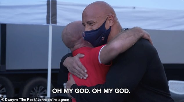 Grateful! On New Year's Day, the Fast & Furious star took to his Instagram to share a clip of the sweet moment that he 'returned the favour' to Bruno by surprising him with a Ford F150