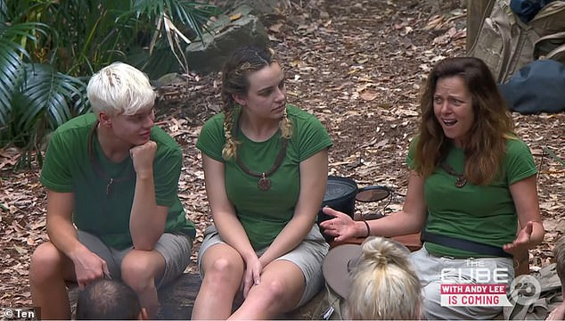 Stars: Alongside Abbie, Jack and Ash, other stars to have entered the jungle camp are former soap star and singer Toni Pearen (right) and retired AFL player Travis Varcoe