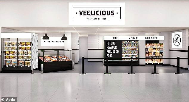 To coincide with Veganuary, Asda has announced it is trialling a new vegan butcher counter called Veelicious