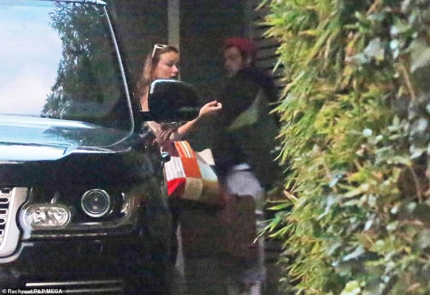 EXCLUSIVE: New couple alert? Harry and Olivia Wilde were pictured arriving back at his LA home on Monday