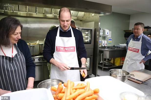 A lighthearted moment at The Passage last year at The Passage, when he prepared carrots in the kitchen of Centro London