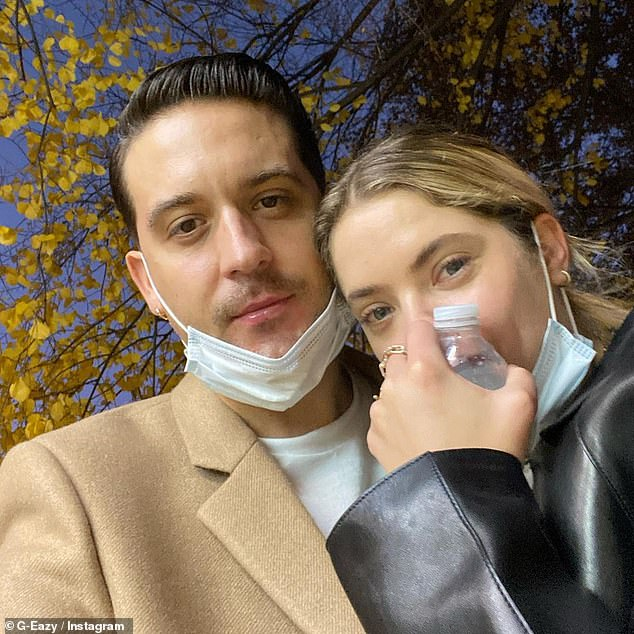 Birthday love: G-Eazy, 31, wished his girlfriend a happy birthday to mark her 31st last month