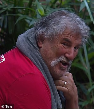 Abbie Chatfield was 'triggered' by Robert 'Dipper' DiPierdomenico's remarks on I'm A Celebrity