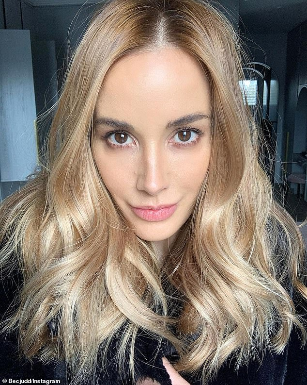 Rebecca Judd unleashes her inner glamazon as she unveils her stunning new look