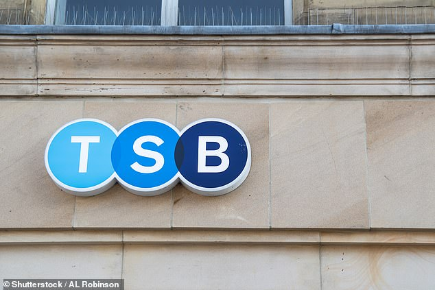 TSB came under fire for failing to roll out extra online banking security 10 months after the deadline set by regulators - although all mobile customers are now covered