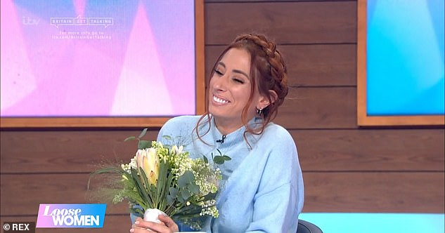 'He'd given me nothing!'Stacey joked she wished her new fiancé had given her a hint before they headed out as she thought someone had passed away in the woods