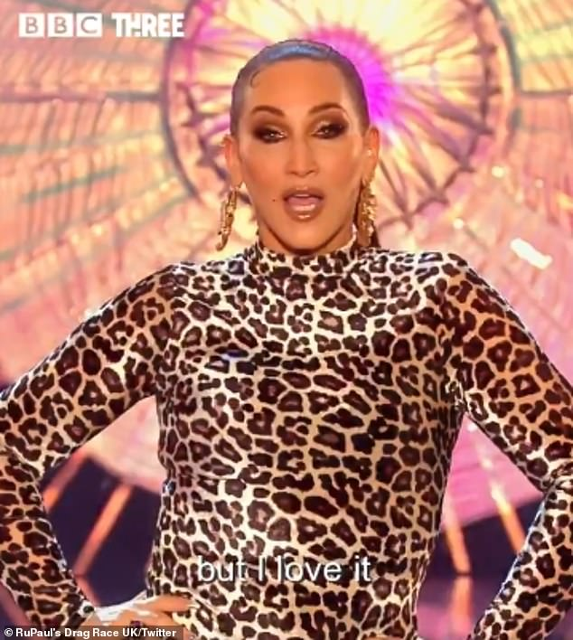 Bring it to the runway!The teaser also showed regular judge Michelle Visage work it in a leopard print number