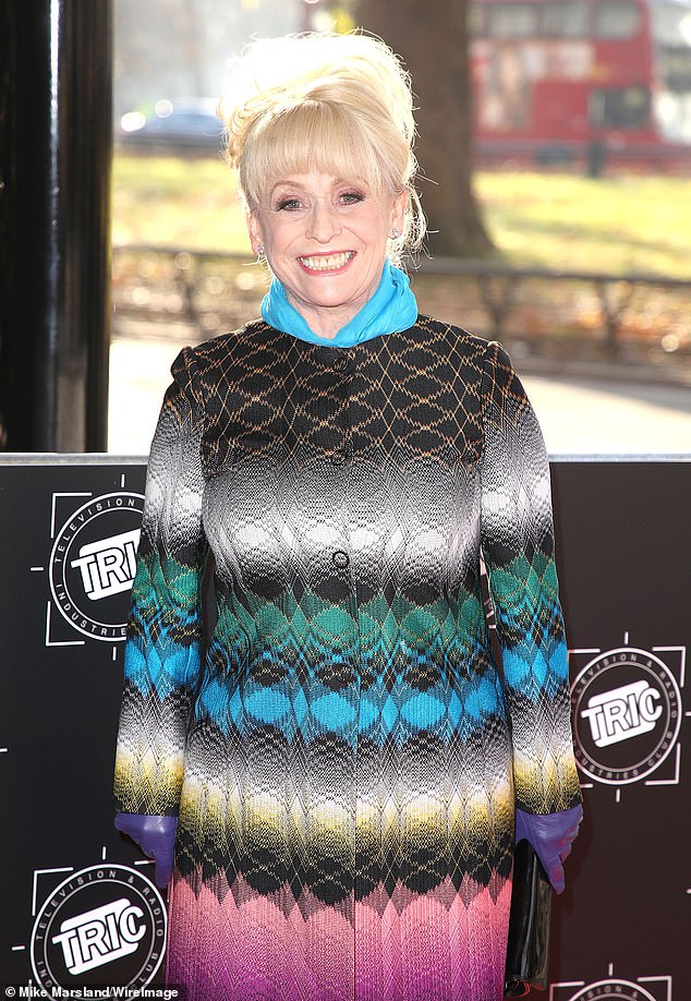 Tribute:Dame Barbara Windsor's work to raise awareness of dementia was praised the Alzheimer's Society ahead of her funeral on Friday (pictured in 2017)