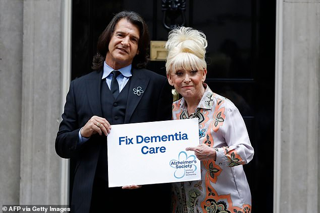 Awareness: Barbara and Scott have been widely praised for their work raising awareness of dementia after the actress went public with her diagnosis in 2018