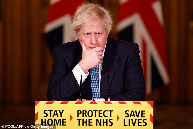 Stanley has often struck an upbeat tone during the pandemic, in contrast to Boris Johnson's somber messaging