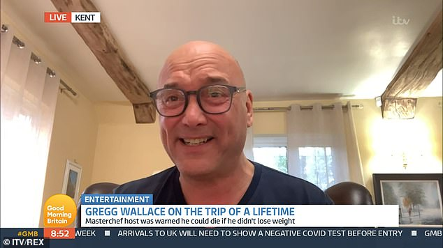 Gregg Wallace reveals doctors warned him he would 'have a heart attack' if he didn't lose weight