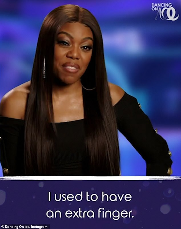 Come again? Meanwhile, the intro video sees rapper Lady Leshurr admit she used to have 11 fingers