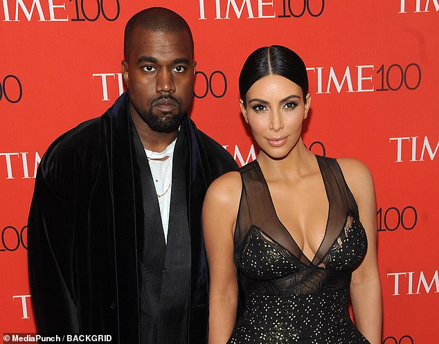 Is it over?  Kim's posts come amid multiple reports that a divorce is 'imminent' from husband Kanye after a difficult year