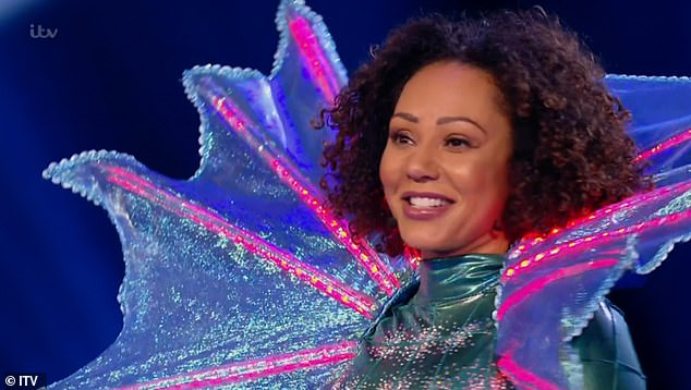 Spicy seahorse!Mel became the latest celebrity to be unmasked on last week's episode of The Masked Singer 2021, after performing Kylie Minogue's Can't Get You Out Of My Head