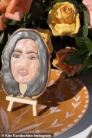 Sisters in cookies: On Friday, the final taping of Keeping Up With The Kardashians took place, as seen on Kim Kardashian's Instagram stories