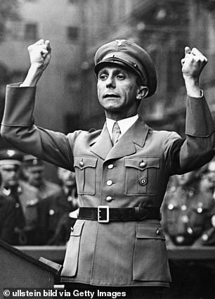 Nazi propagadist Joseph Goebbels