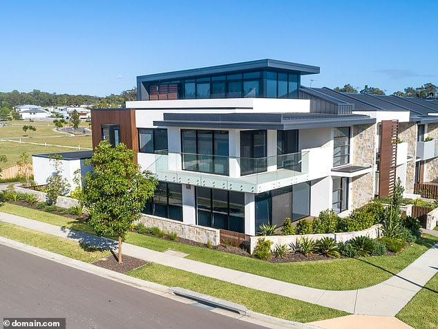 Sold: Michael has also used his cricket earnings to build himself a property portfolio, among them was a home in Lake Macquarie's Morisset Park. He sold a lavish investment property north of Sydney for a cool $1.5million, a week after announcing his split from Kyly