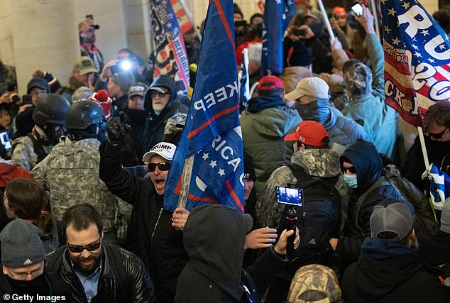 Instead, Trump was resistant in calling the troops even after the mob of brazen Trump supporters descended on the Capitol.