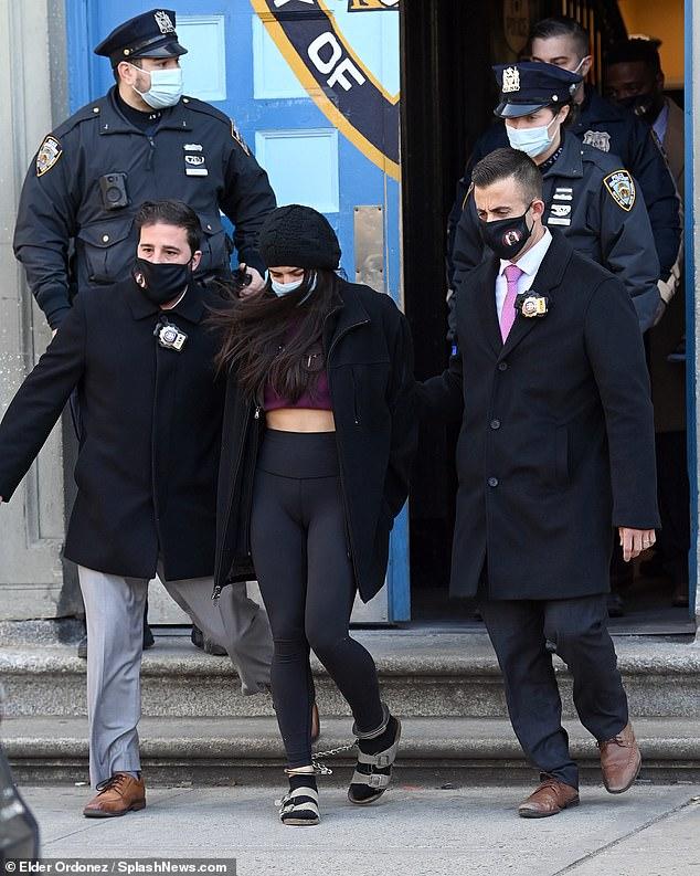 Soho Karen Miya Ponsetto will be arraigned in New York TODAY