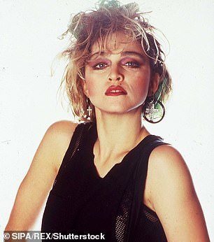 Queen of Pop: Madonna, pictured in 1984, will have final say on the cast
