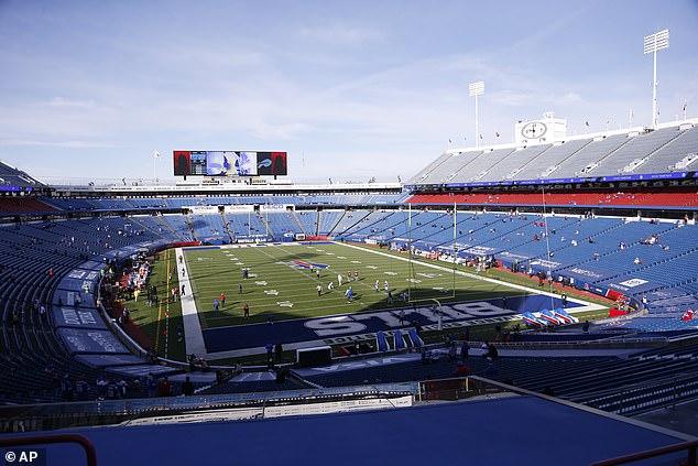 Buffalo's 71,000-seat stadium will host around 6,700 fans on Saturday amid the pandemic