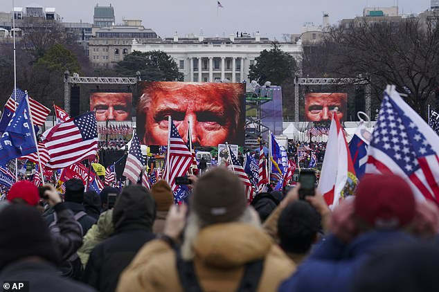 Trump told the crowd to 'fight': 'Unbelievable, what we have to go through. What we have to go through - and you have to get your people to fight'