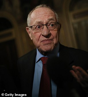Dershowitz represented him at his first impeachment trial and said it would be an 'honor and privilege' to defend the president again
