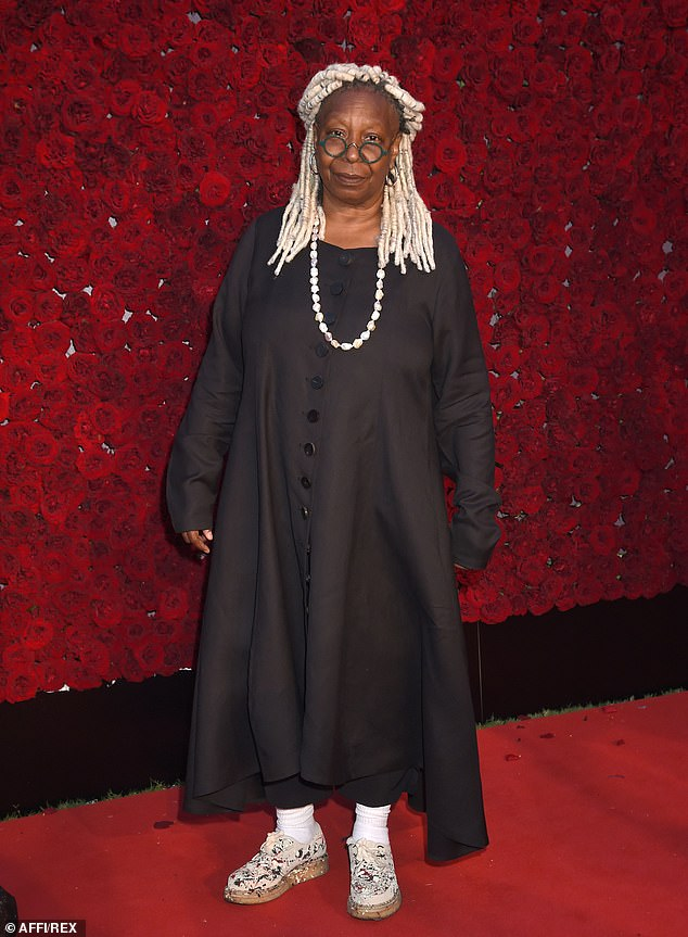 Next Doctor? Whoopi Goldberg has revealed that she has set her sights on being cast as the 14th Doctor - and the first ever American Time Lord (pictured in October 2019)