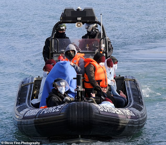 The Home Office said 20 migrants arrived in Dover after being rescued by teams in two separate incidents