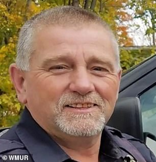 In Troy, New Hampshire, Police Chief David Ellis has also been heckled with calls to resign after he attended the violent rally in DC