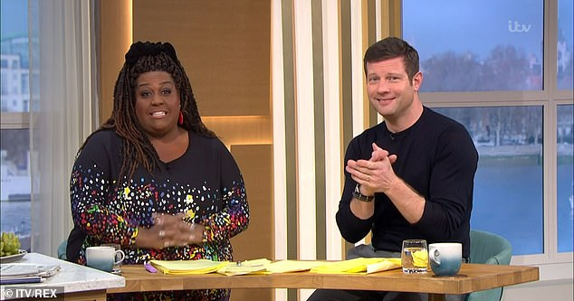 Maiden show:Alison and Dermot O'Leary's debut as the new Friday hosts of This Morning wasn't without a few on-screen hiccups