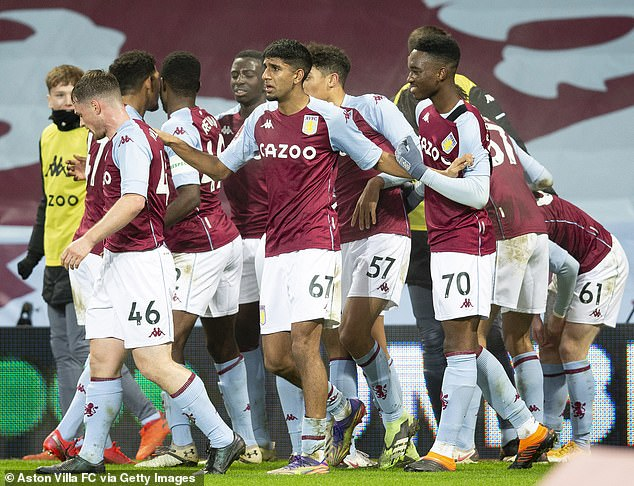 Villa were forced to play their youth team in the FA Cup third round tie against Liverpool